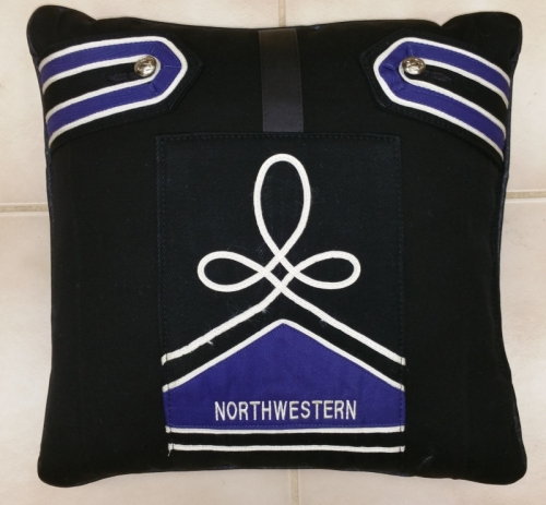 Authentic Limited-Edition, Custom-Made NUMB Uniform Pillows