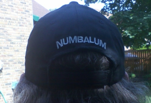 Official NUMBALUMS Black Cap