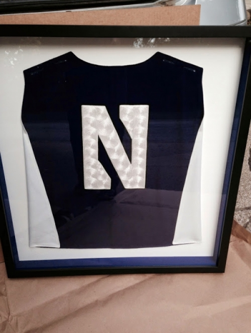 Collector's Edition Framed NUMB Uniform Cape