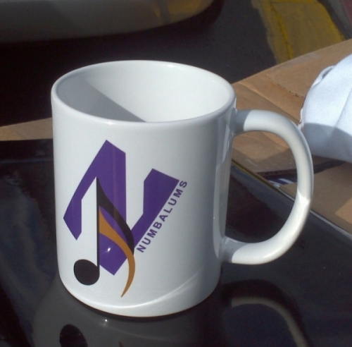 NUMBALUMS Coffee Cup