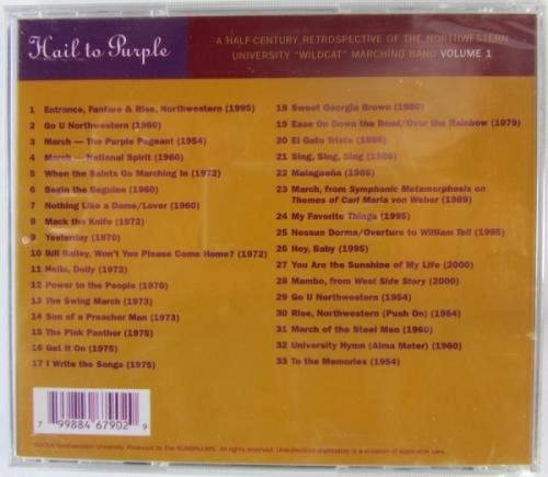 """Hail to Purple"" CD"