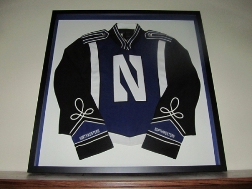 Collector's Edition Framed NUMB Uniform Jacket