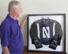 Collector's Edition Framed NUMB Uniform Jacket